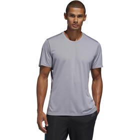 adidas Own The Run Koszulka Mężczyźni, grey/reflective silver